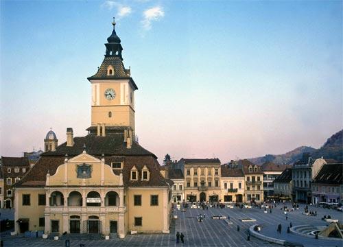 Brasov - Main Square (Piata Sfatului)