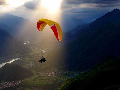 Paragliding Brasov