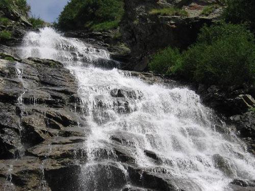Transfagarasan - Balea Waterfall
